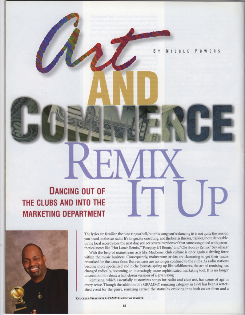 Grammy Magazine: Remix It Up (1 of 2)