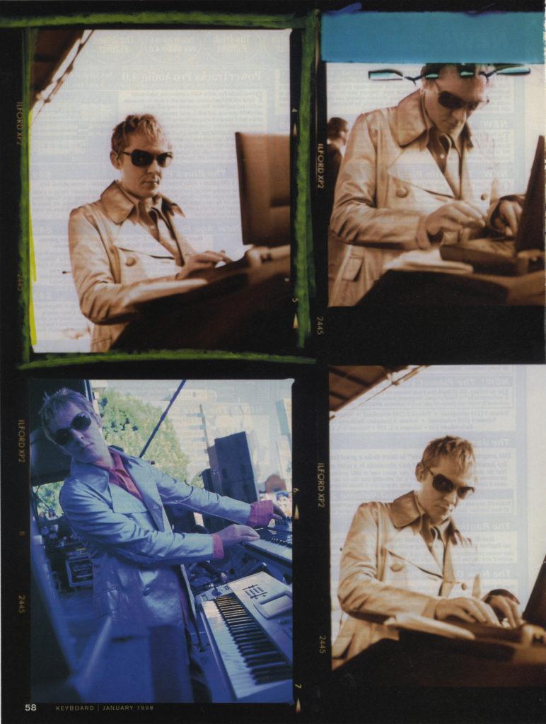 Keyboard Magazine: Duran Duran — Nick Rhodes Comes Full Circle (3 of 6)