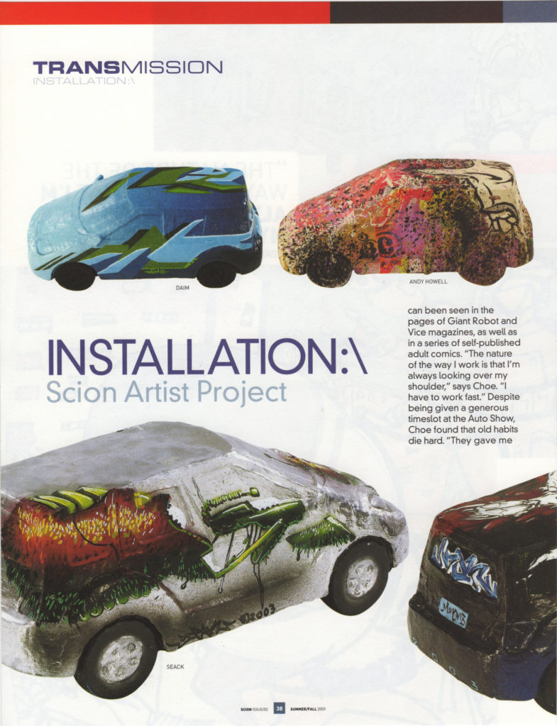 Scion Magazine: Installation (5 of 6)