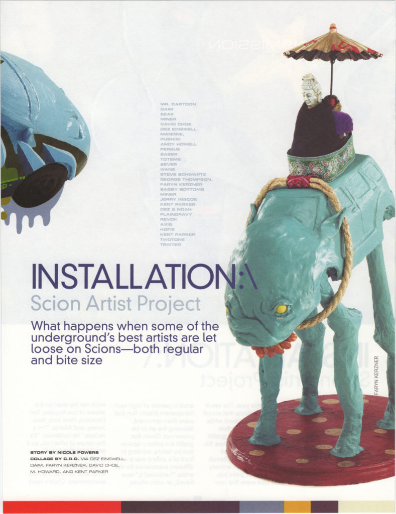 Scion Magazine: Installation (2 of 6)