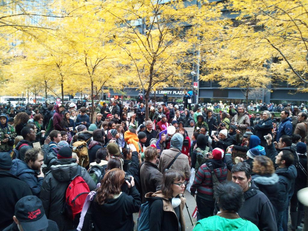 Zuccotti Park | Occupy Wall Street | November 17, 2011 - NYC | © Nicole Powers, 2011