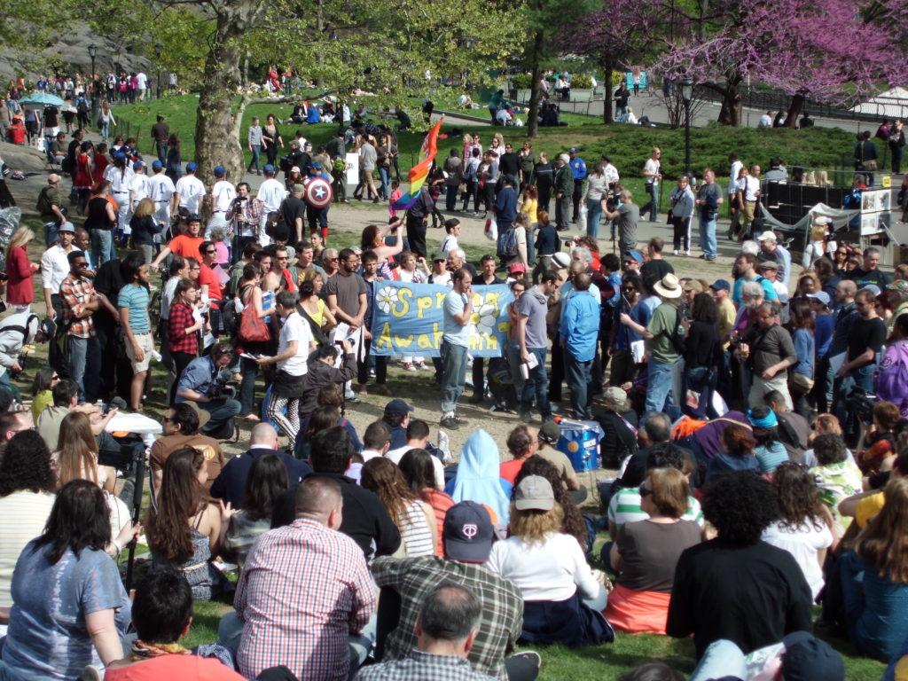 Occupy NYC Spring Awakening | Central Park | April 14, 2012 | © Nicole Powers, 2012