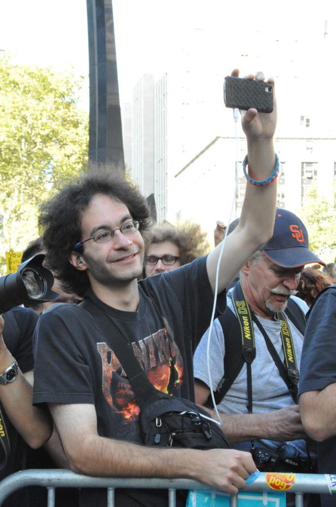 Casper | Occupy Wall Street | September 16, 2012 - NYC | © Nicole Powers, 2012