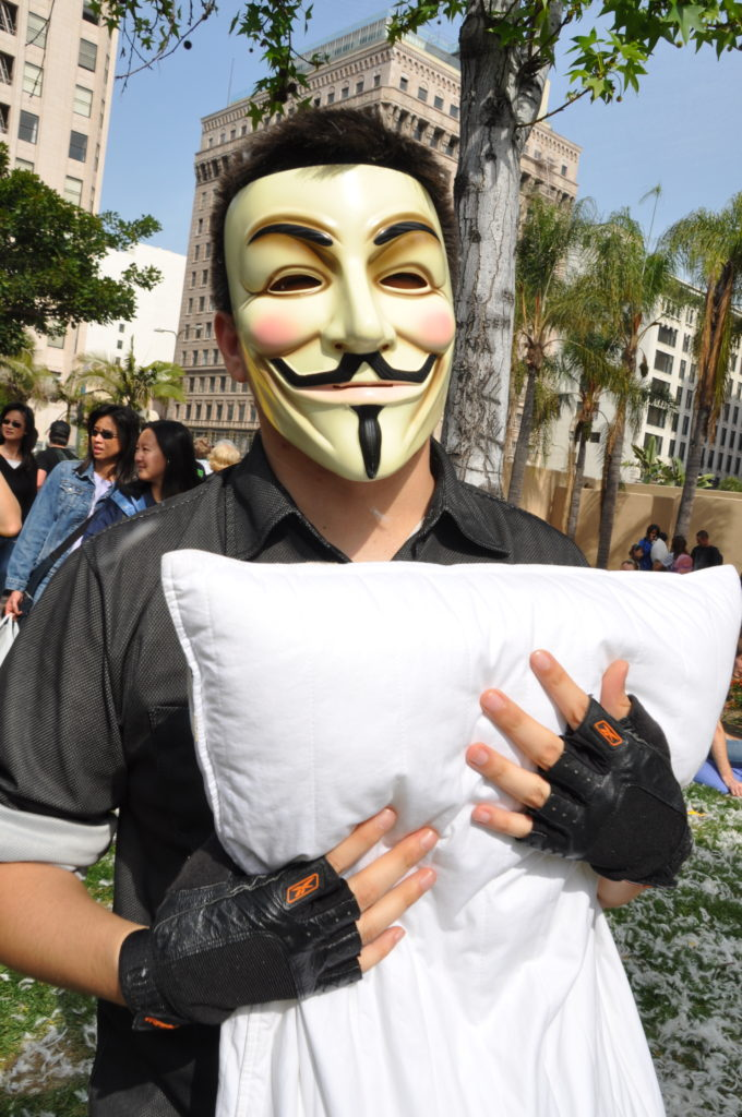 International Pillow Fight Day | Pershing Square | DTLA | April 3, 2010 | © Nicole Powers, 2010