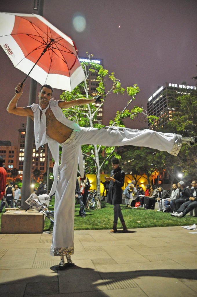 Occupy LA | Pershing Square | May 1, 2012 | © Nicole Powers, 2012