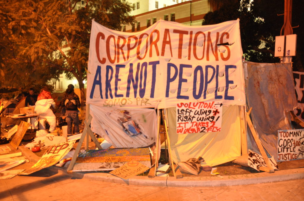 Occupy LA | November 27, 2011 | © Nicole Powers, 2011
