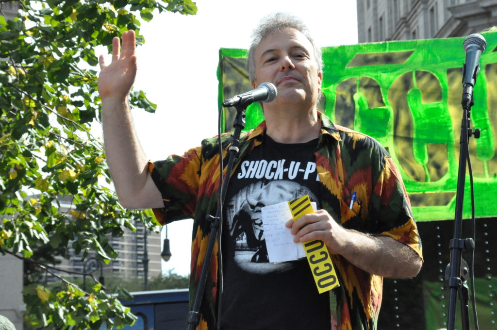 Jello Biafra | Occupy Wall Street | September 16, 2012 - NYC | © Nicole Powers, 2012