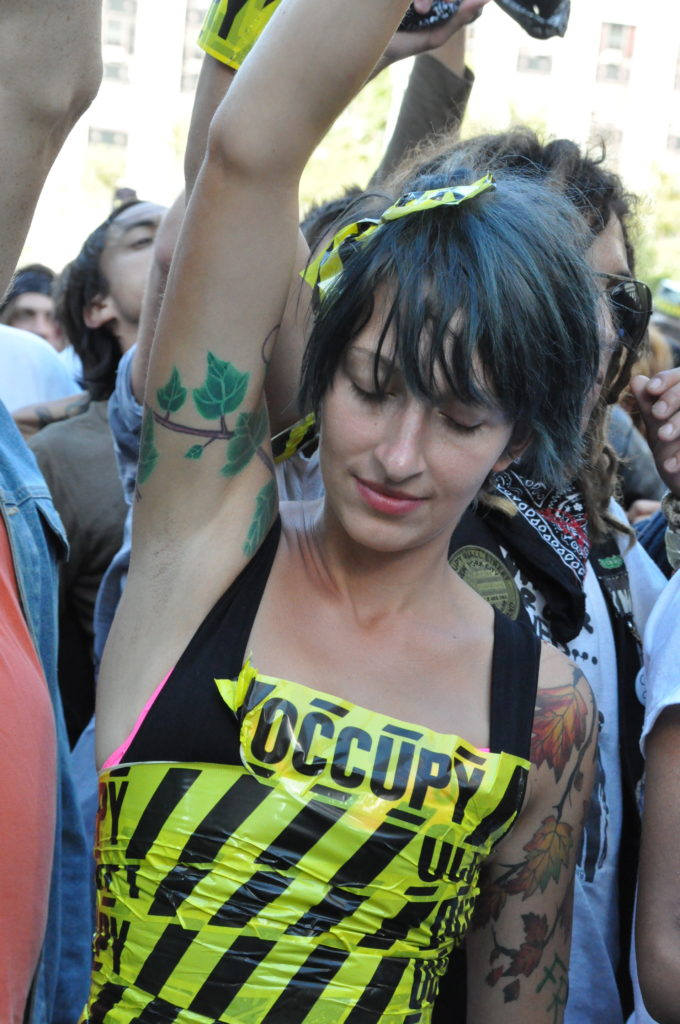 Lauren | Occupy Wall Street | September 16, 2012 - NYC | © Nicole Powers, 2012