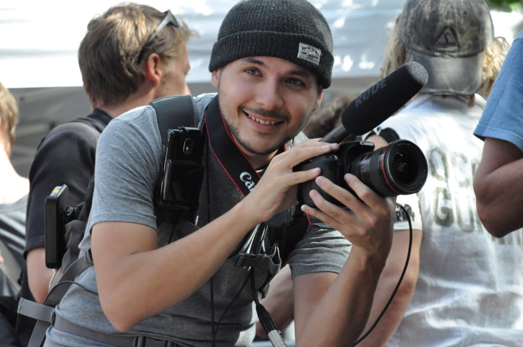 Tim Pool | Occupy Wall Street | September 16, 2012 - NYC | © Nicole Powers, 2012