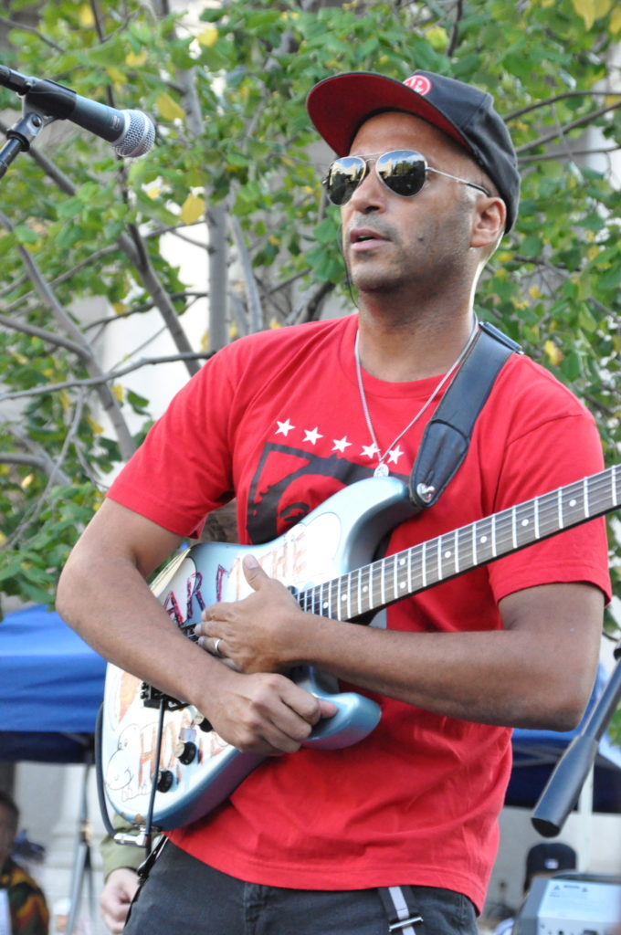 Tom Morello | Occupy Wall Street | September 16, 2012 - NYC | © Nicole Powers, 2012