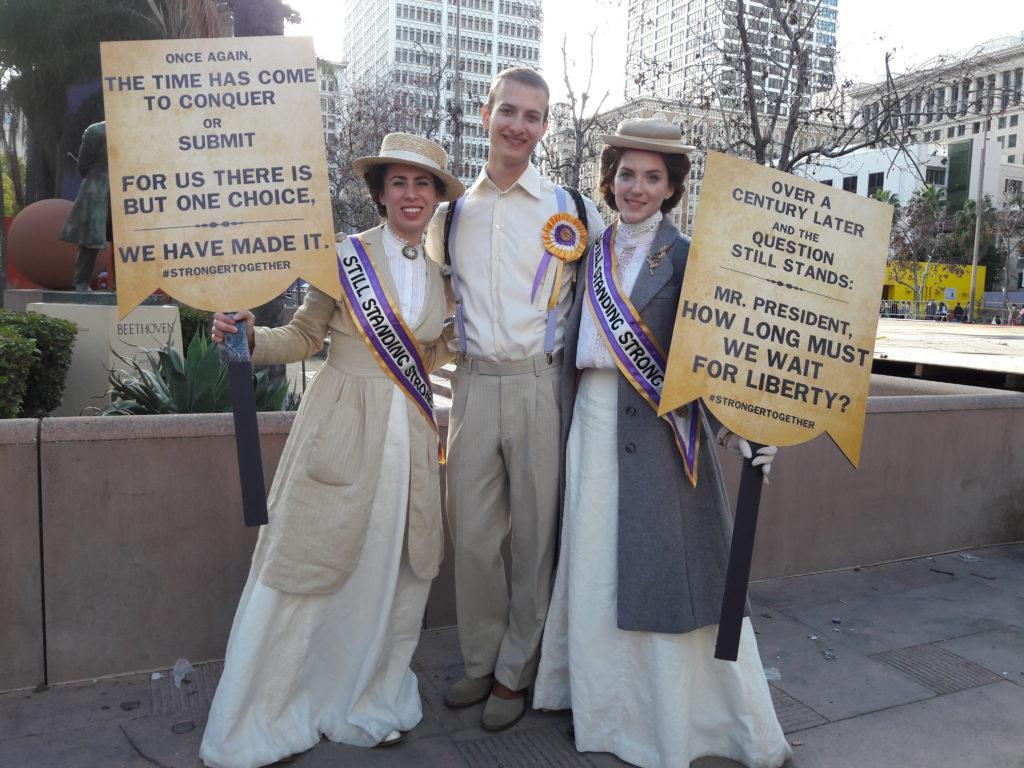 Women's March   Los Angeles   January 21, 2017   © Nicole Powers, 2017