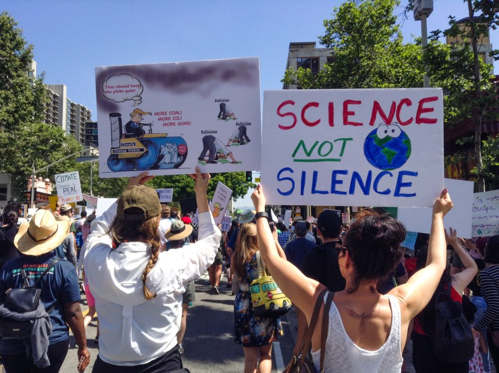 March for Science | Los Angeles | April 22, 2017 | © Nicole Powers, 2017